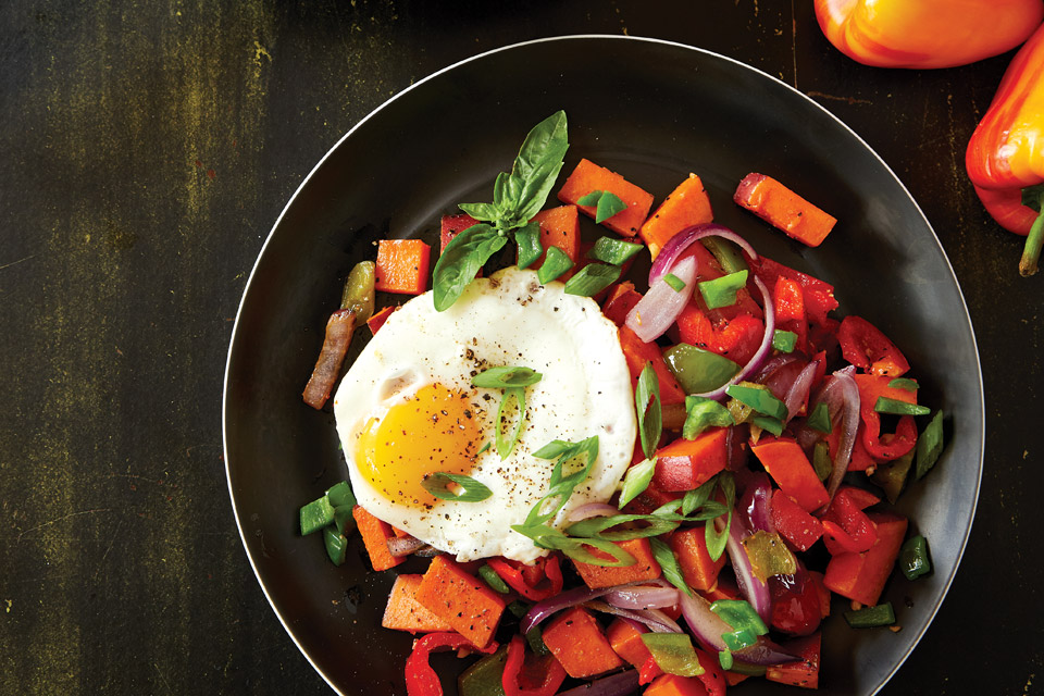 Orchard House's Sweet Potato Hash