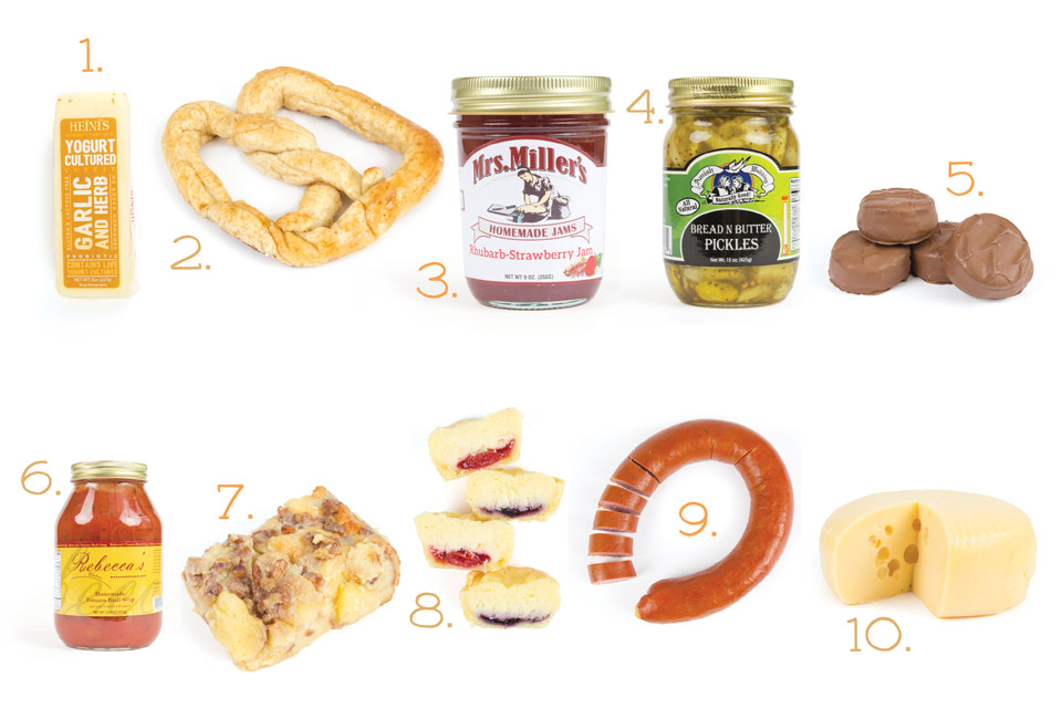10 To Go: Amish Country Products
