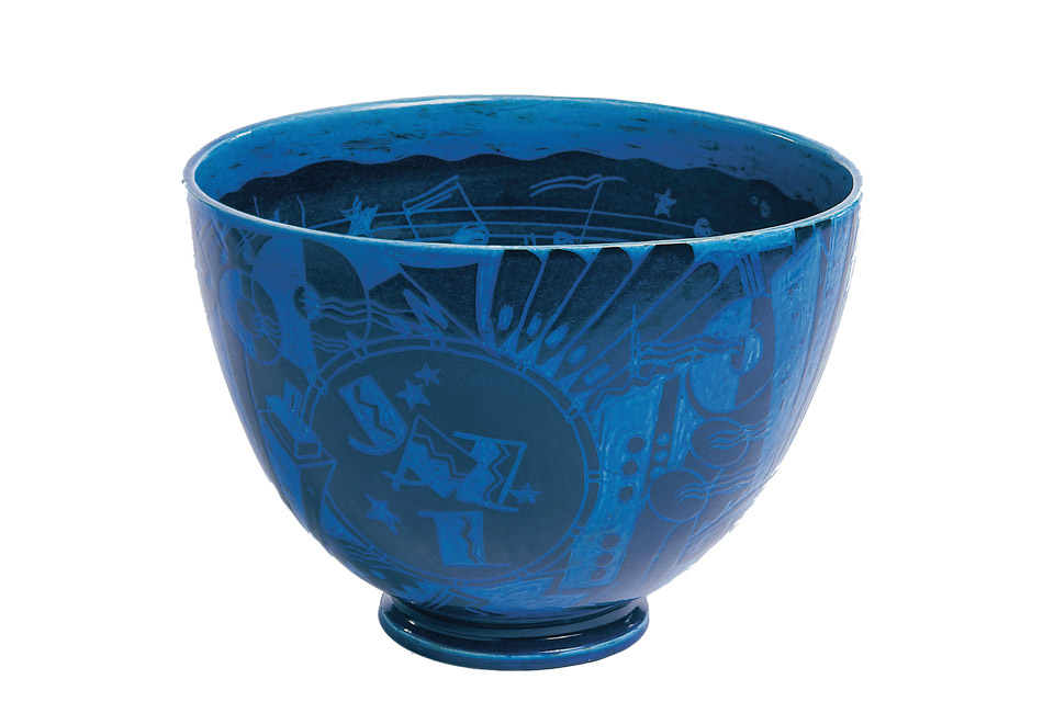 """The New Yorker (Jazz) Punch Bowl"""
