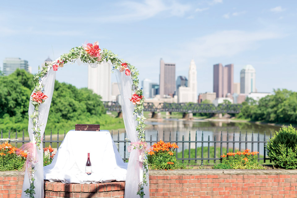 Ashley and Scott Gray wedding