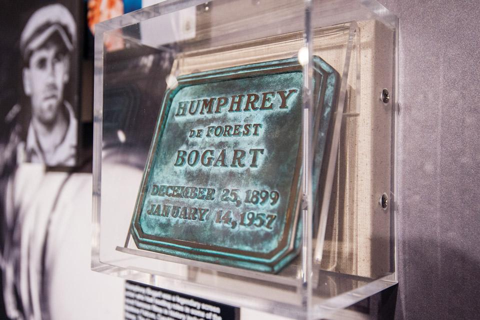 Humphrey Bogart funeral marker