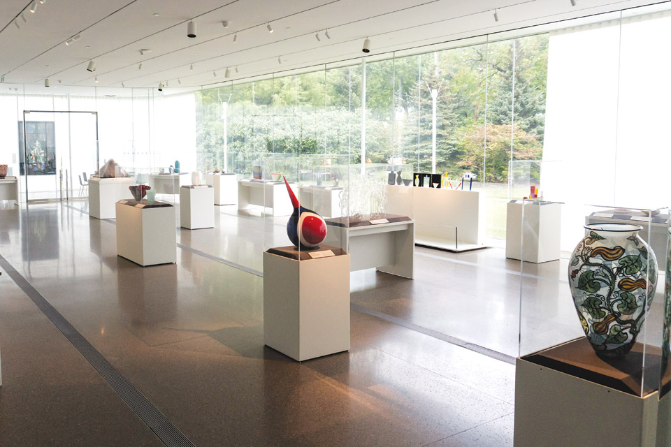 """Fired Up"" exhibition gallery"