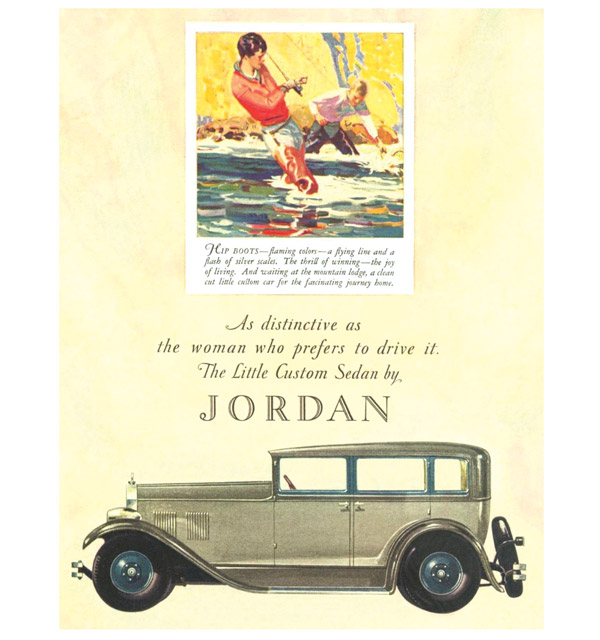 Jordan custom sedan advert
