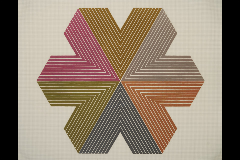 Frank-Stella-Star-of-Persia