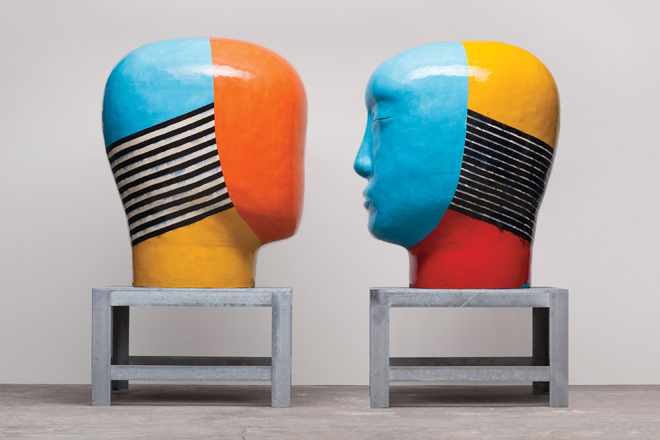 "Jun Kaneko ""Blurred Lines"" exhibition"