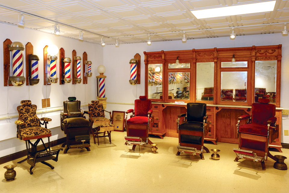 The-National-Barber-Museum-chairs