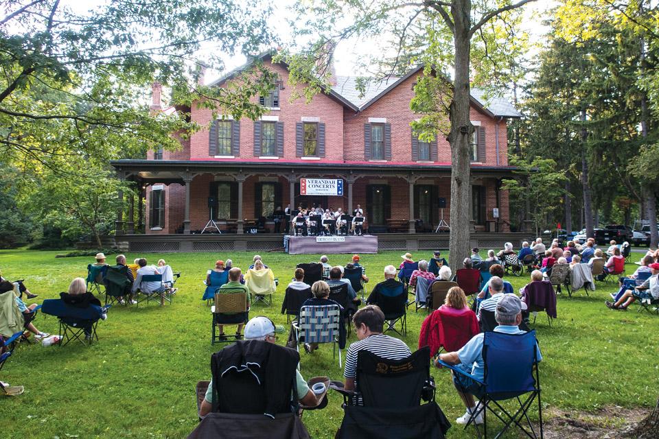 Verandah Concert at Rutherford B. Hayes Home