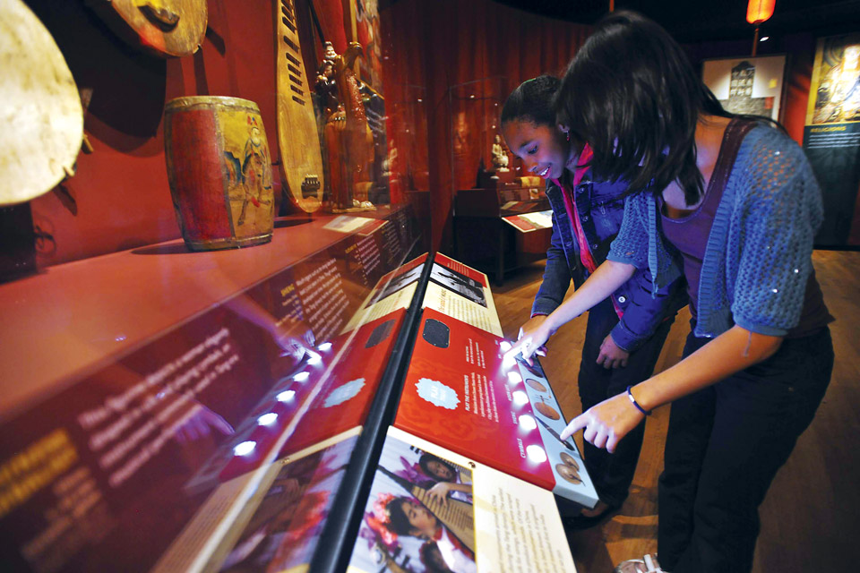 """Traveling the Silk Road"" at COSI"