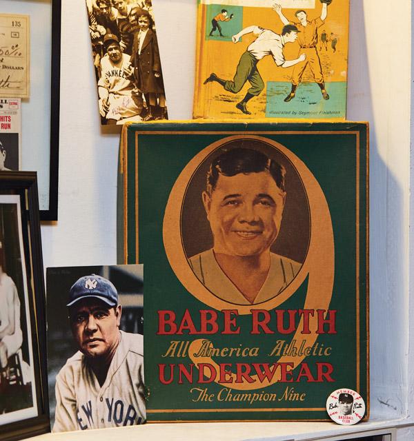 Babe Ruth Underwear