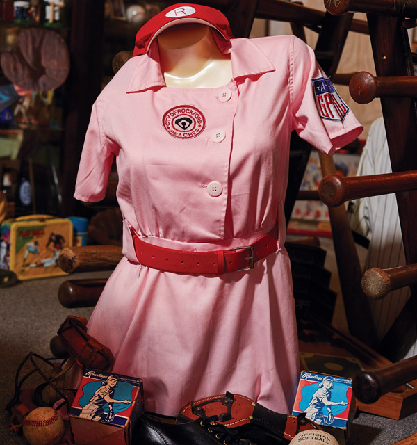 Replica Rockford Peaches uniform