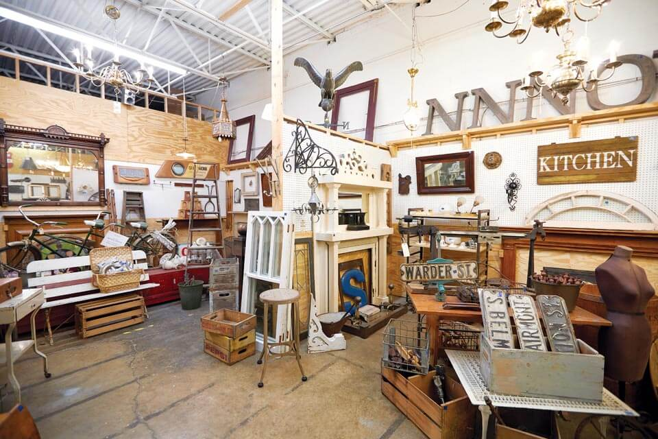 Columbus Architectural Salvage showroom