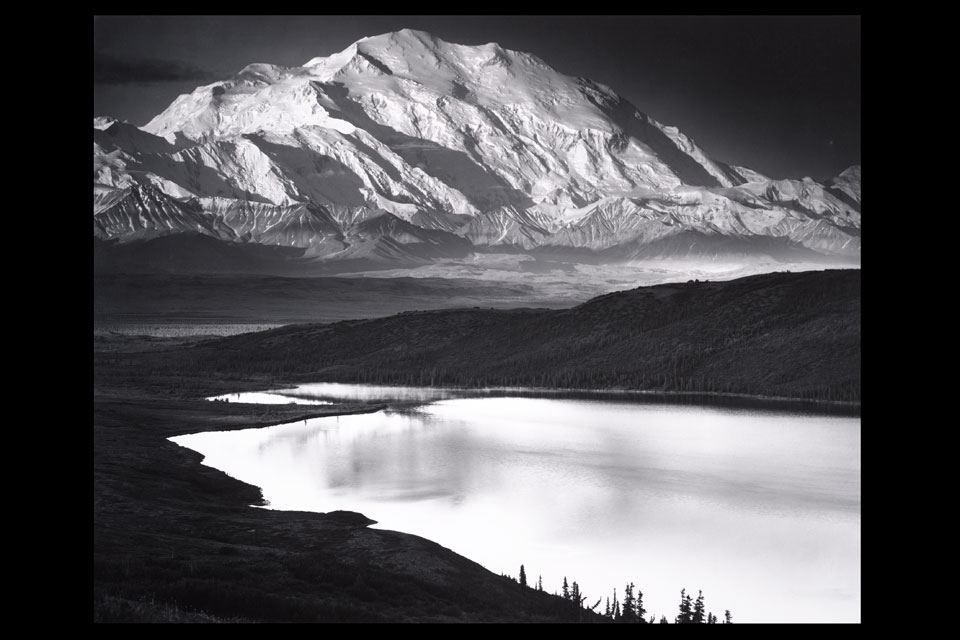 Denali and Wonder Lake, Denali National Park, Alaska, Ansel Adams