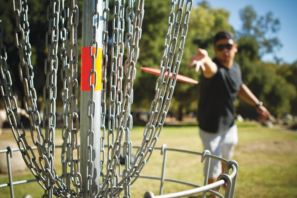 Disc golf in Butler County