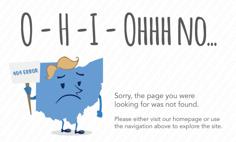 Ohio Magazine 404 Error