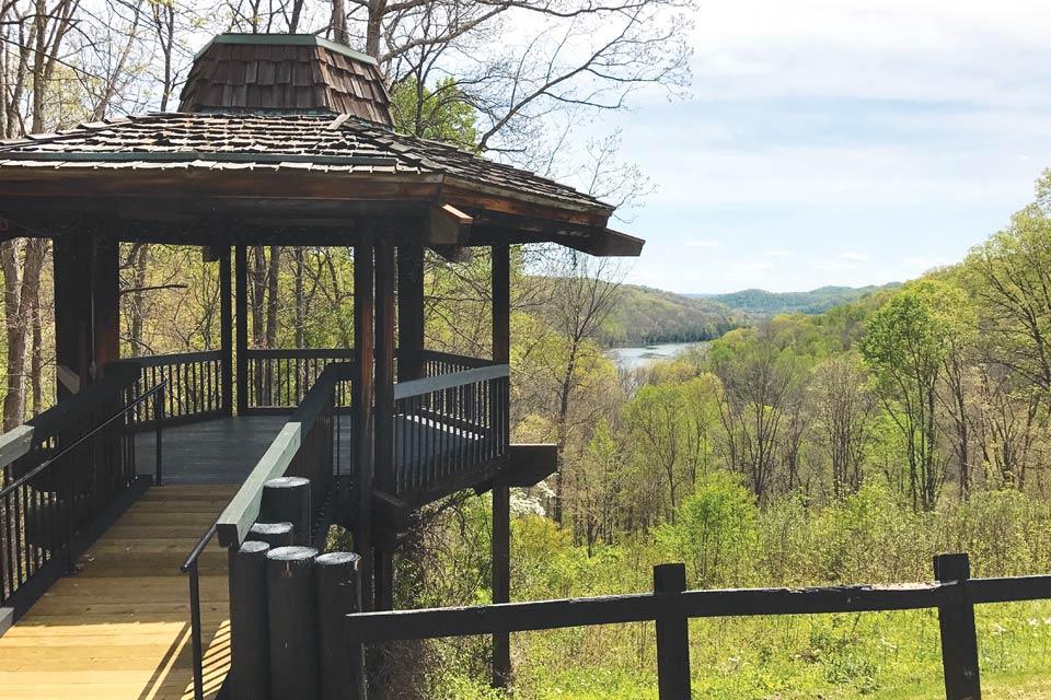 Shawnee State Park Overlook