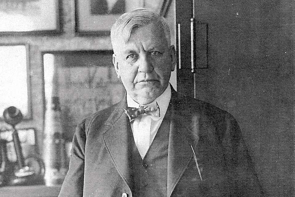 Photo of Harry M. Stevens