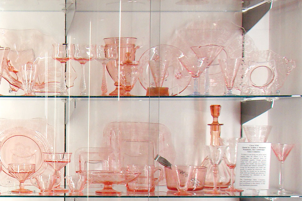 The National Museum of Cambridge Glass (photo by Rachael Chillcott)