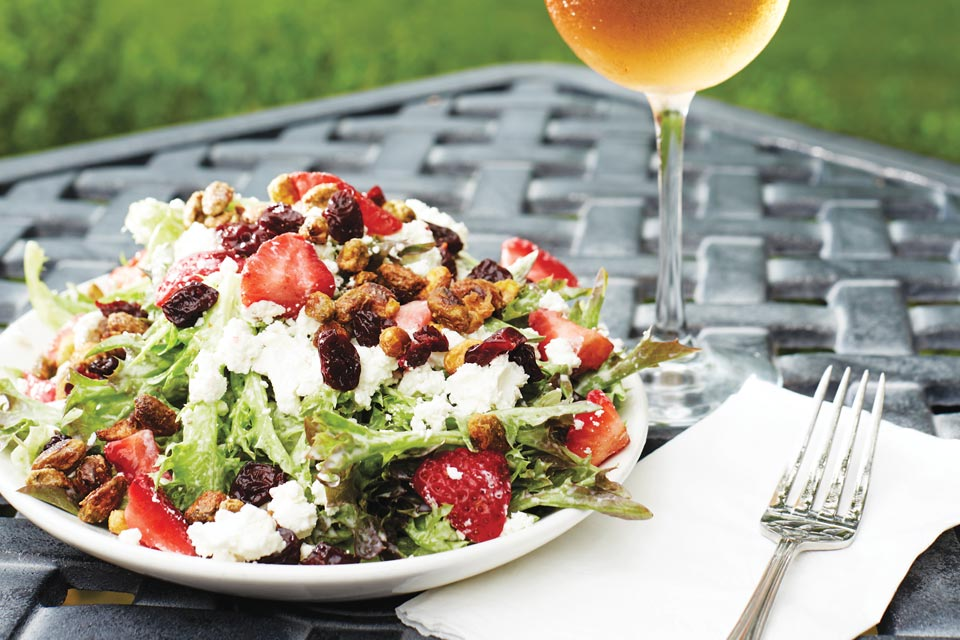 Gervasi Vineyard's Sicilian salad (photo by Casey Rearick)