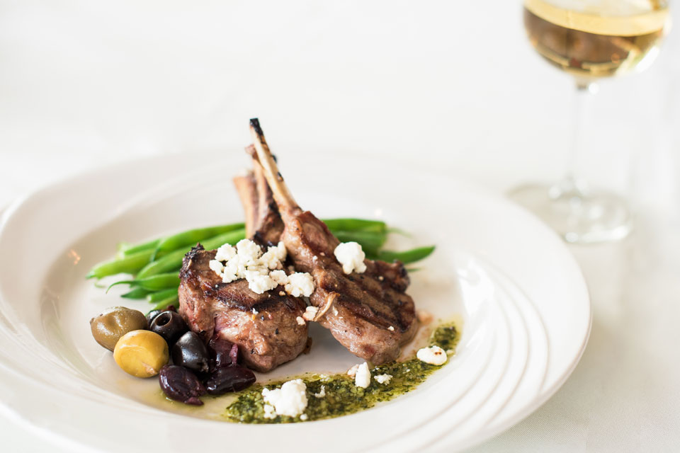Henke Winery's Mediterranean Lamb (photo by Amie Santavicca)