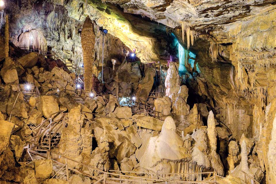 Lost World Caverns in West Virginia