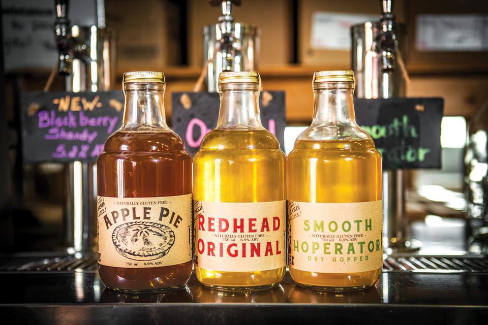 Burnham Orchards' cider