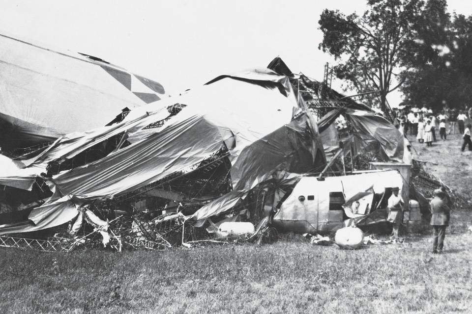 USS Shenandoah crash site