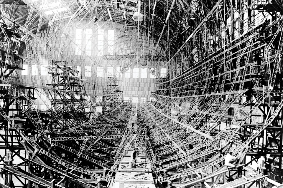 USS-Shenandoah interior view