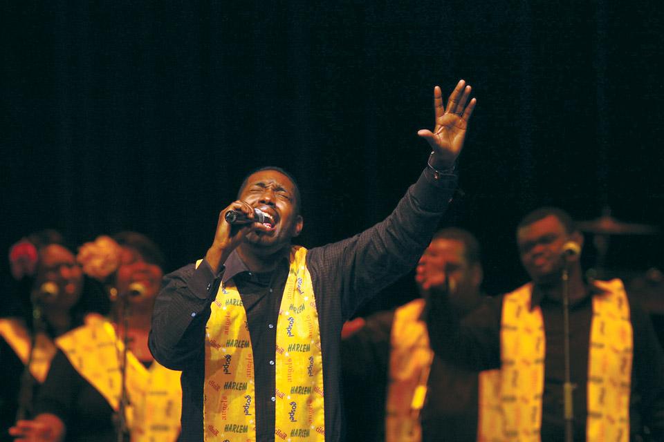 Photo courtesy of Harlem Gospel Choir