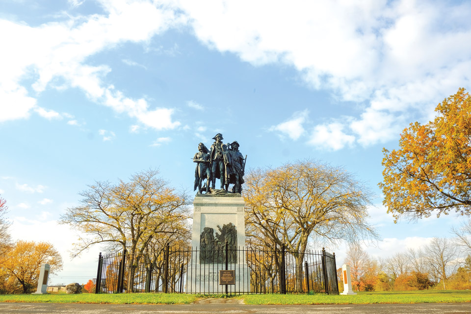 Fallen Timbers Monument (photo by Jeremy Wadsworth)