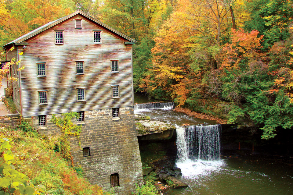 Lanterman's Mill (photo courtesy of Mill Creek Metroparks)