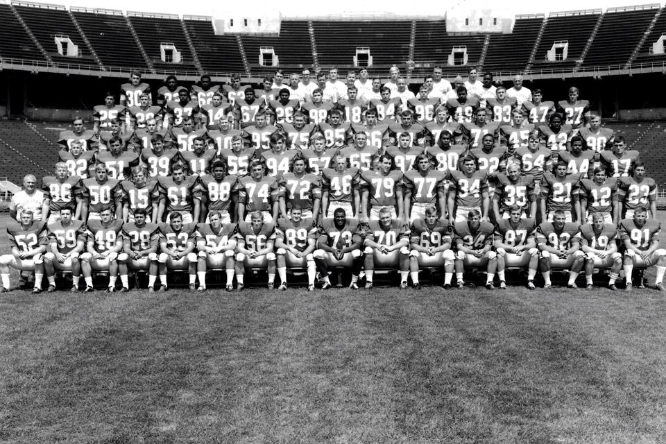 1968 Ohio State Buckeyes Football Team Photo