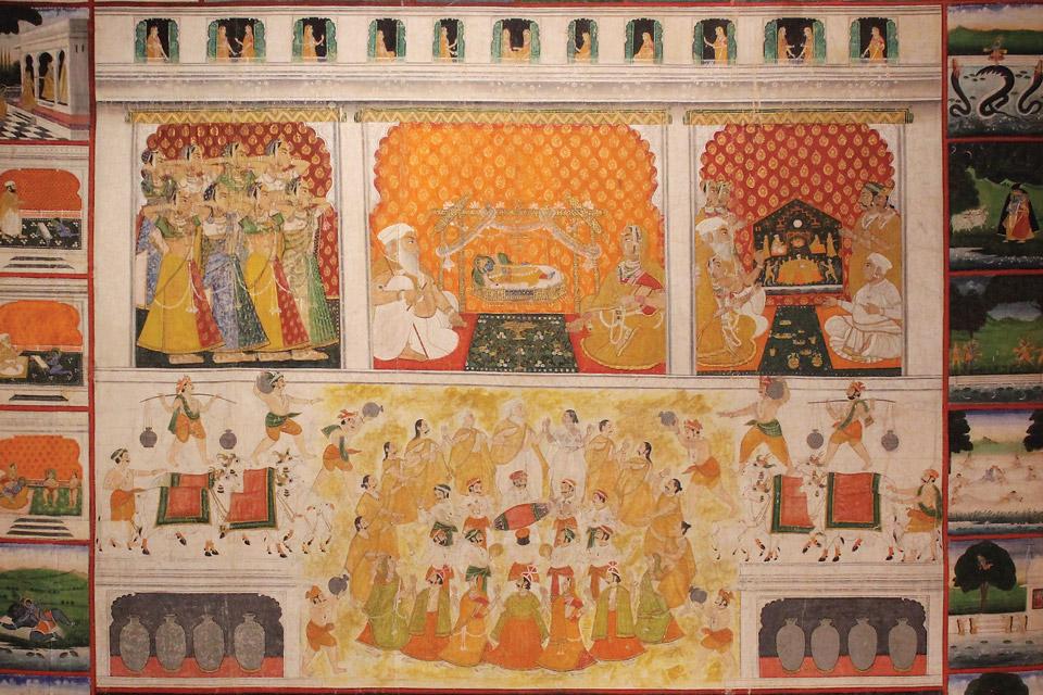 Celebration of the Birth of Krishna