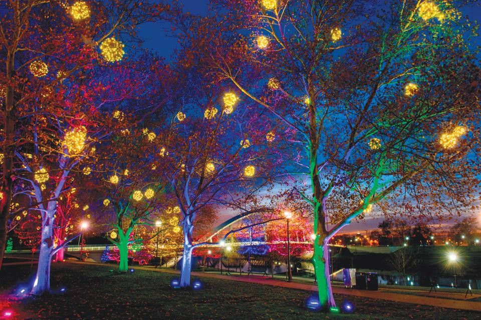 16 Great Ohio Holiday Light Displays