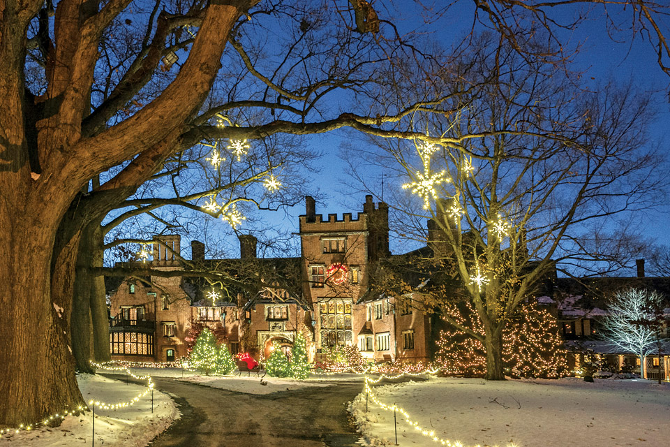 Deck the Hall at Stan Hywet