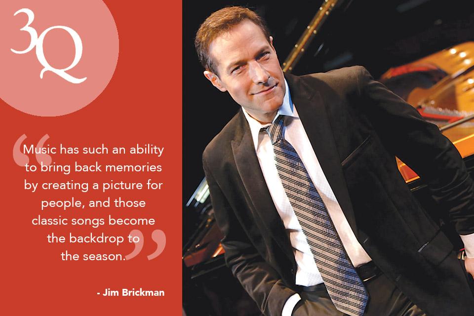 3 Questions: Jim Brickman