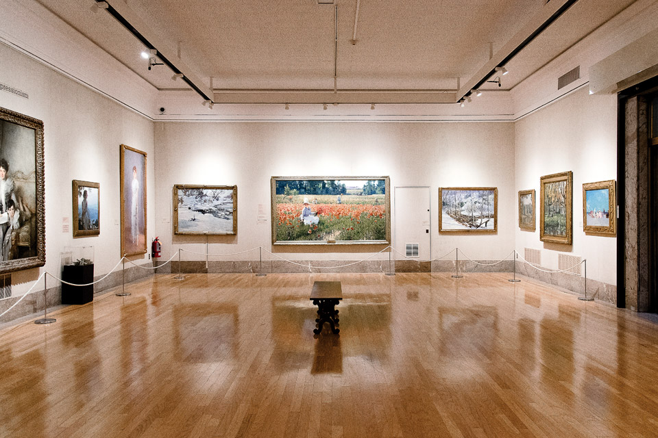 Gallery at the Butler Institute of American Art