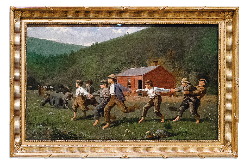 "Winslow Homer's ""Snap the Whip"""