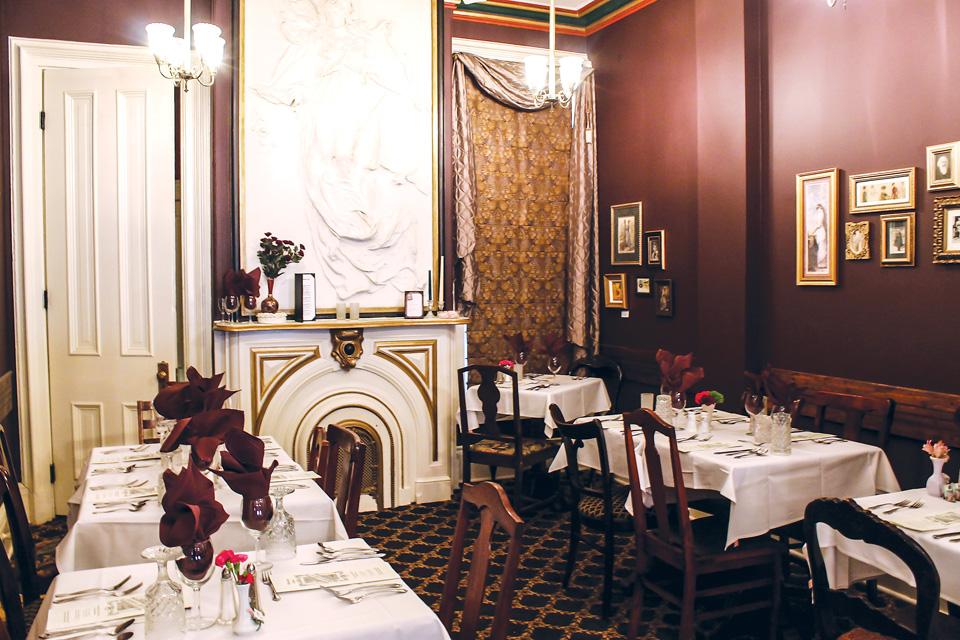 Symphony Hotel dining room