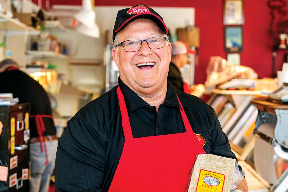 Bob Lillis of Ecklerin Meats