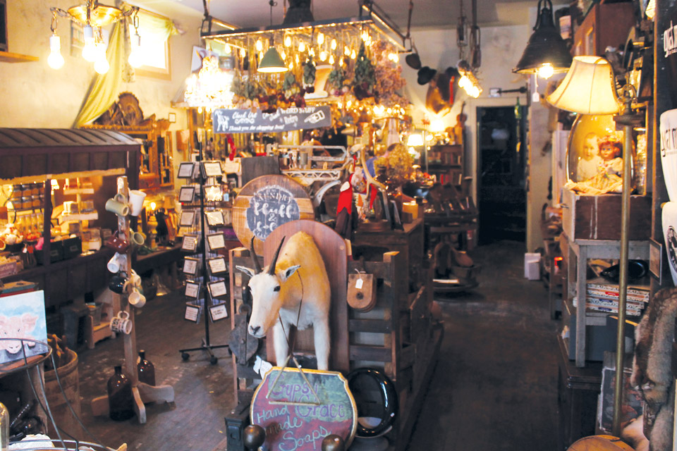 Gypsy Grace & The Vintage Goat store overview