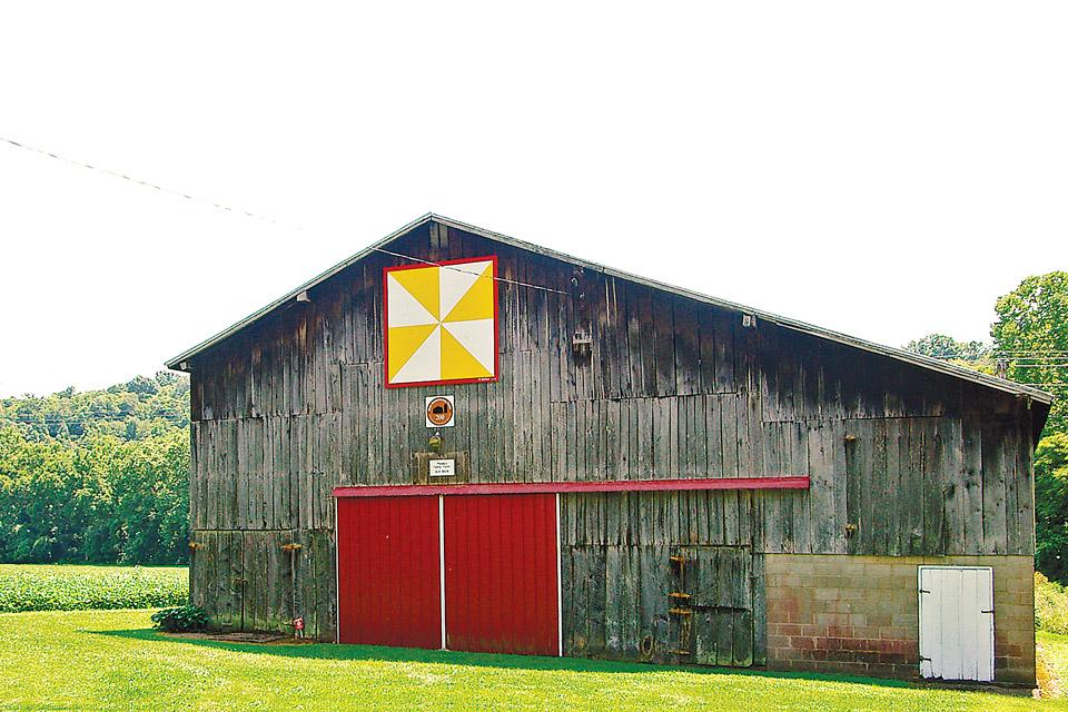 Adams County Quilt Barn Tour Windmill Pattern