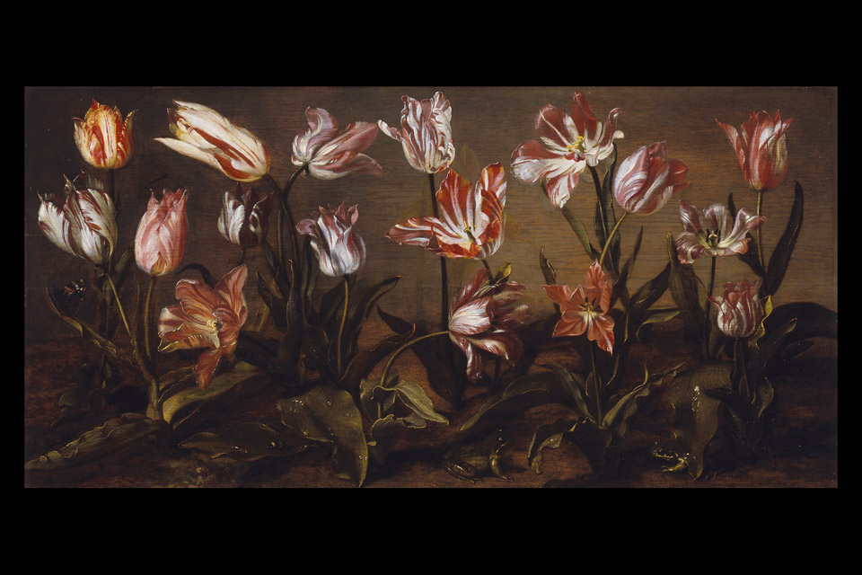 "Jacob Gerritsz Cuyp's ""Bed of Tulips"" is part of the Columbus Museum of Art exhibition. (Artwork collection of the Dordrecht Museum)"