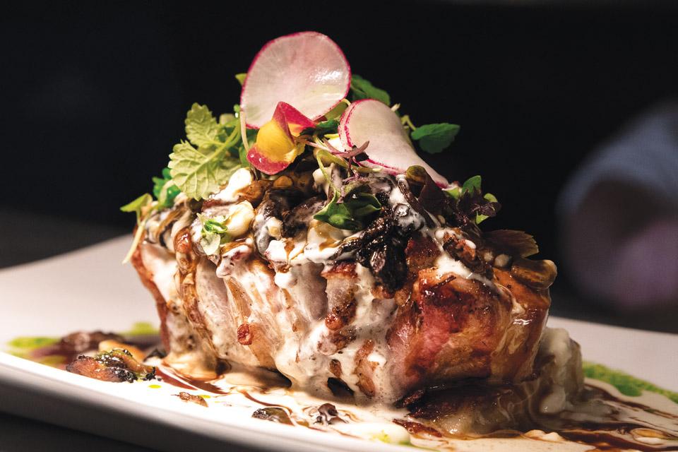 Zinc Brasserie's Berkshire Pork