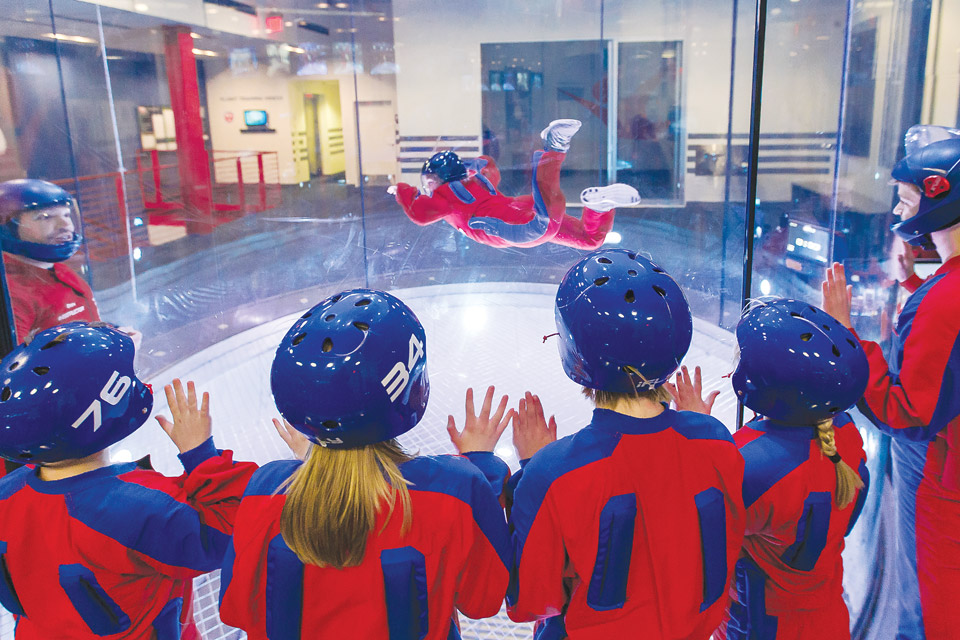 iFly Indoor Skydiving in Liberty Township