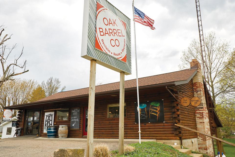 Oak Barrel Co. Exterior