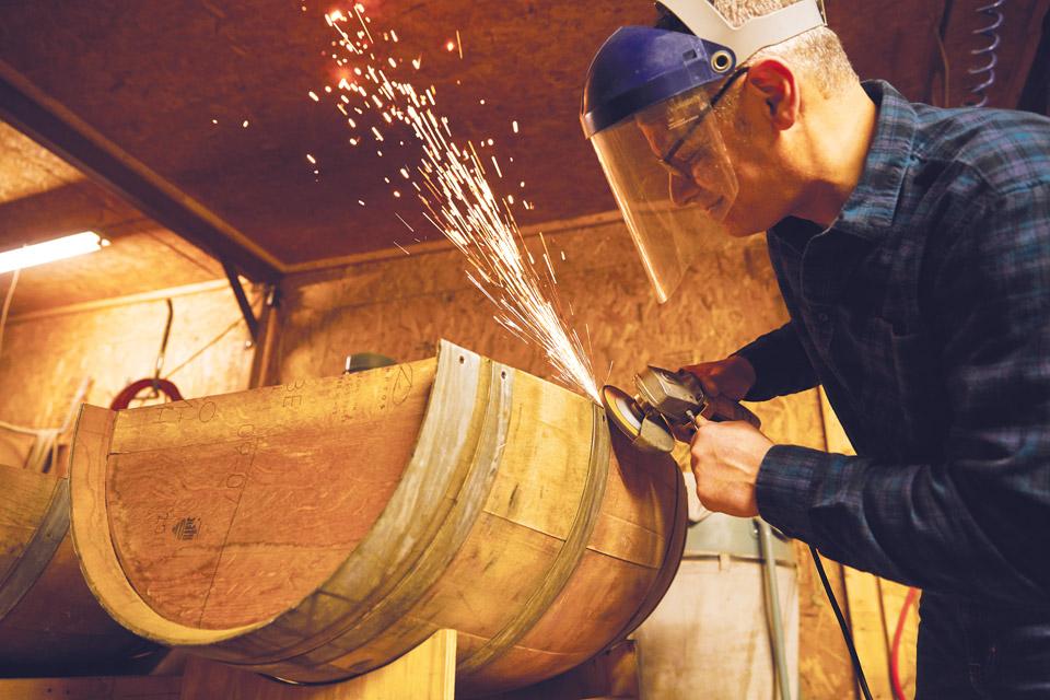 Chris Cutting Barrel