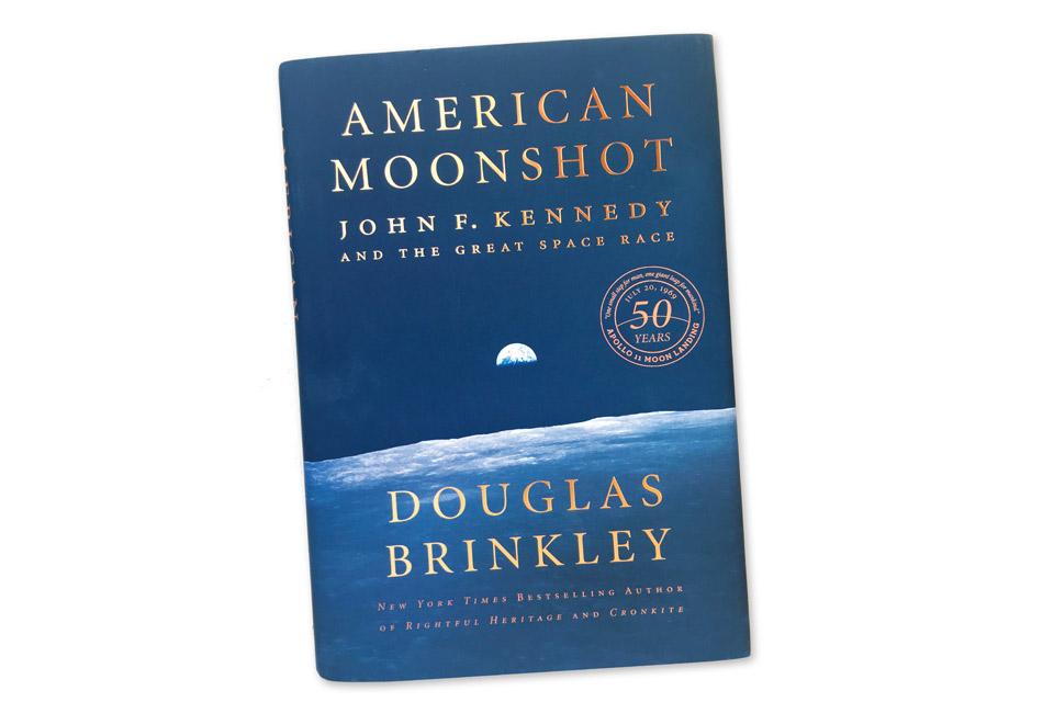 """Douglas Brinkley's """"American Moonshot"""""""