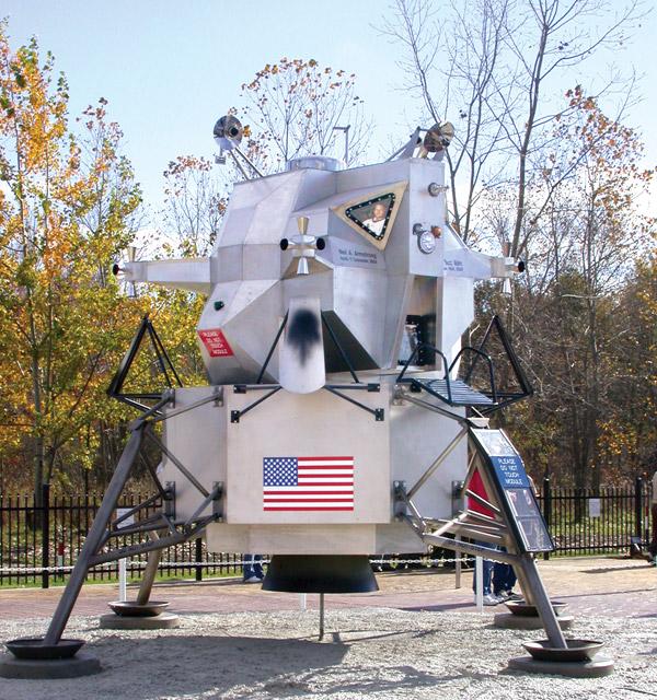 First Flight Lunar Module (Courtesy of First Flight Warren)