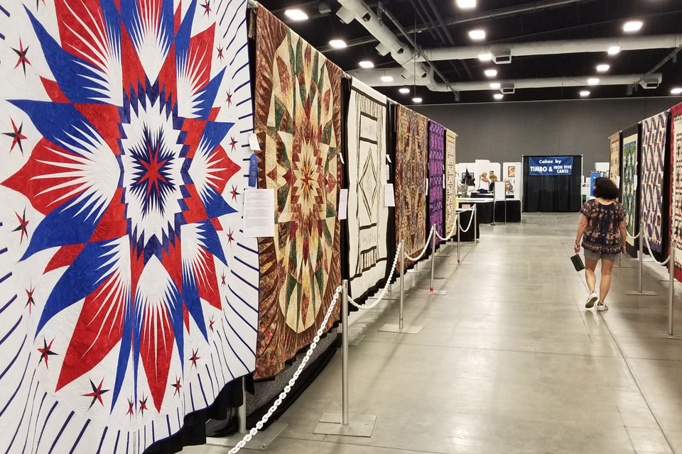 Quilts in Kasich Hall