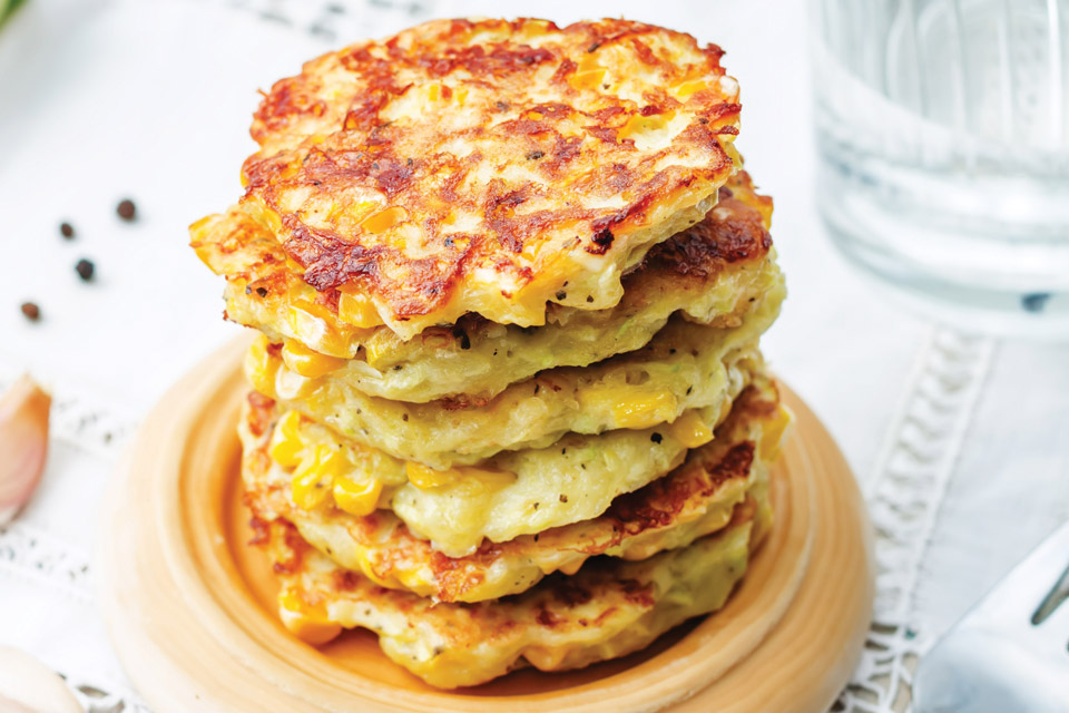Corn Fritters Recipe (photo by iStock)
